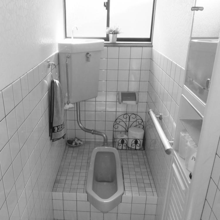 和式トイレ ビフォー